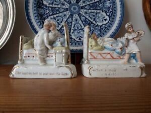 Antique Victorian German fairings * 2