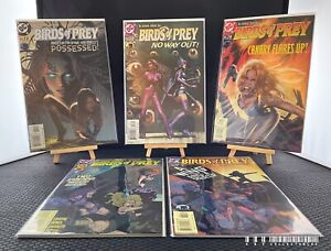 DC Birds Of Prey Issues 72-76 (2004) Bagged & Boarded