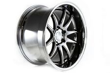 AODHAN DS-02 19x11 5x114.3 +22 Black Vacuum (PAIR) wheels