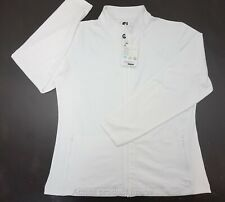 New FootJoy Golf Jacket Womens Size Large White 289A Outerwear Clothing