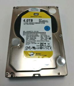 4TB WD RE Datacenter 4TB HDD WD40000FYYZ-01UL1B3 SATA 64MB Cache