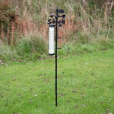Outdoor Garden Weather Station Thermometer Vane & Rain Collector