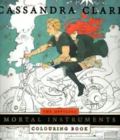 NEW The Official Mortal Instruments Colouring Book Cassandra Clare ADULTS & KIDS