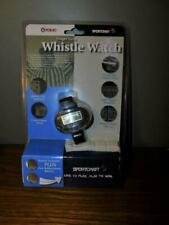 FOX 40 Finger Grip Whistle Watch Sportcraft Battery Indicator Sealed Free Ship