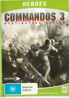Pc Game - Commandos 3 - Destination Berlin (Disk & Cover Art Only)