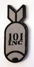Patch Écusson 101 INC Bombe sur velcro Airsoft