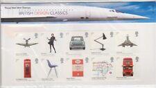 GB 2009 diseños británicos presentación Pack no 421 SG:2887-2896 como nuevo conjunto de sello