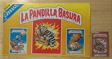 Rare Empty Peru La Pandilla Basura Album + Wrapper Peruvian Garbage Pail Kids
