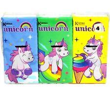 EINHORN Unicorn Kartika Taschentücher Pocket Tissue mouchoirs fazzoletti OVP