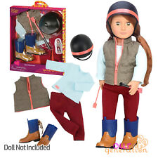 More details for new 2020 our generation well groomed deluxe horse riding outfit 18ch/46cm dolls