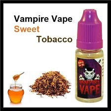Vampire Vape *4 x 10ml - Sweet Tobacco 12mg E-Liquid