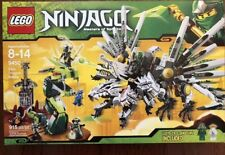 Lego 9450 Ninjago Epic Dragon Battle Retired Set New In Sealed Box
