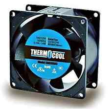 ThermoCool High Air Flow, 80mm square, 14W AC Fan - Lot of 3  ( 28F033 )