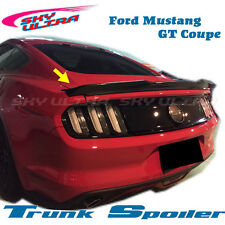 Unpainted V type Rear Trunk spoiler for Ford Mustang GT 2015~2016 Coupe♞