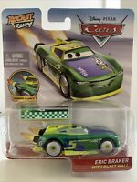 Disney Pixar Cars - Rocket Racing Eric Braker with Blast Wall Official Diecast
