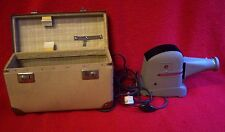 Dia-Projektor ZETT Braunschweig mit Koffer ZETTOLUX um 1960 für GLASDIAS 7x7 cm