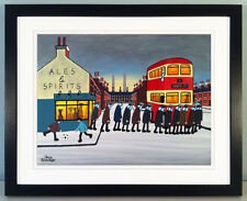 """JACK KAVANAGH """"GOING TO THE MATCH"""" COVENTRY CITY FRAMED PRINT"""