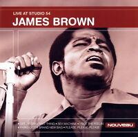 James Brown - Live at Studio 54   *** BRAND NEW CD ***