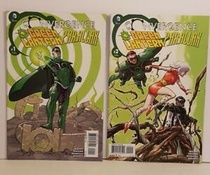 GREEN LANTERN / PARALLAX : CONVERGENCE #1-2 VF (COMPLETE 2 BOOK PACK)