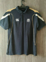 CANTERBURY SCOTLAND RUGBY SCOTISH NEW ZEALAND POLO SHIRT JERSEY MENS SIZE L
