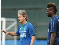 Foto Autografo Calcio Roberto Mancini - Asta di Beneficenza Sport Coa Signed