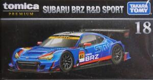 Takara Tomy TOMICA Premium 18 1/60 Subaru BRZ R&D Sport DIECAST CAR MODEL NEW