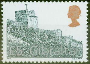 Gibraltar 2000 Black, Silver & Gold SG942 V.F MNH