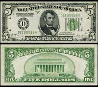 FR. 1952 D $5 1928-B Federal Reserve Note Cleveland DGS Crisp CU