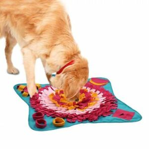 Washable Snuffle Mat for Dogs Pet Feeding Mat Puppy Training Pad Puzzle Toys UK