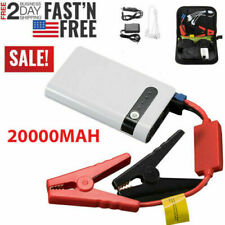 400A 20000mAh Portable Car Jump Starter Auto Battery Booster Power Pack w/ Clamp