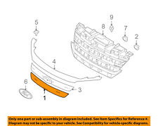 FORD OEM 10-12 Fusion-Grille-Lower AE5Z8200B