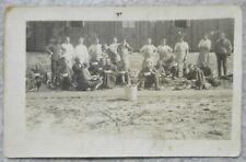 Carte Postale Prisonniers Allemand ? Guerre 14-18 WW1 Militaire