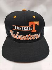 Tennessee Volunteers Baseball Cap Hat Adjustable Adidas Black Flat Bill NEW