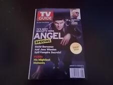 David Boreanaz, Joss Whedon, Johnny Carson - Tv Guide Magazine 2004