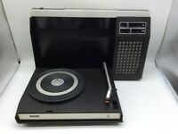 Vintage Philips 423 Plattenspieler 1973