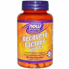 NOW Foods Recovery Factors Immune Support 90 Vegetable Capsules Colostrum IGF-1