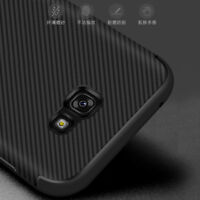 For Samsung Galaxy A3/A5/A7 2017, Shockproof Carbon Fiber Soft TPU Cover Case