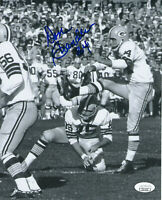 PACKERS Don Chandler signed photo 8x10 AUTO JSA COA Super Bowl II Autographed