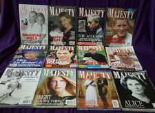 Majesty Magazine Volume 25, All  original issues from 2004, British Royal Family