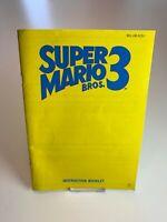 Nintendo NES Manual Super Mario 3 SCN