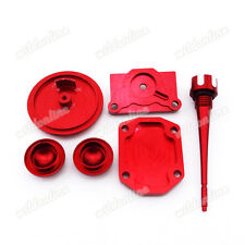 Red Engine Dress Up Kit For Lifan YX Zongshen 110cc 125cc Pit Dirt Bike