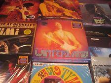 JIMI HENDRIX LIVE 13 CONCERT WINTERLAND WOODSTOCK 27 HEAVY 180 GRAM LP'S  Sealed