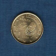 Espagne - 2005 - 10 centimes d'euro - Pièce neuve de rouleau -