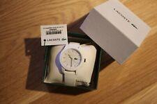 LACOSTE Damenuhr 12.12 weiß NEU&OVP mit Originalrechnung watch montre