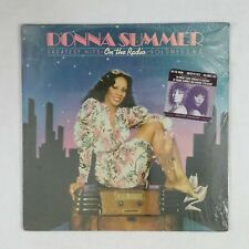 DONNA SUMMER On The Radio Greatest Hits NBLP27191 Dbl LP Vinyl SEALED Hype