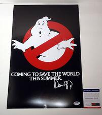 Dan Aykroyd Signed Autograph Ghostbusters Movie Poster PSA/DNA COA #2