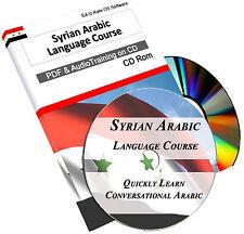 Syrian Arabic Language Course CD - Learn Speak Easy Study Audio MP3 Book PDF 190