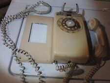 Rotary Wall Phone Bell Systems  Vintage Corded  at&t phone