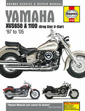 Yamaha XVS650 & 1100 Drag Star/V-Star (97 - 05) Reparaturanleitung Haynes Manual