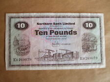 NORTHERN  BANK  £10  NOTE, 1971.